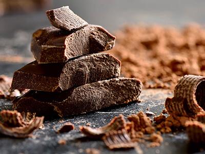 Cocoa and dark chocolate