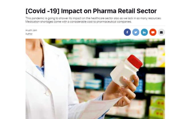 Covid 19 inpact on pharma retail sector