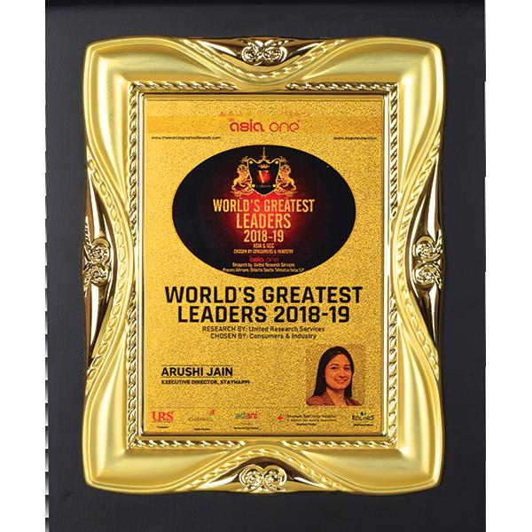 StayHappi Pharmacy - Worlds Greatest Leaders Award 2018-2019