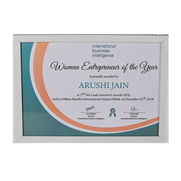 StayHappi Pharmacy - Woman Entrepreneur Of The Year Award