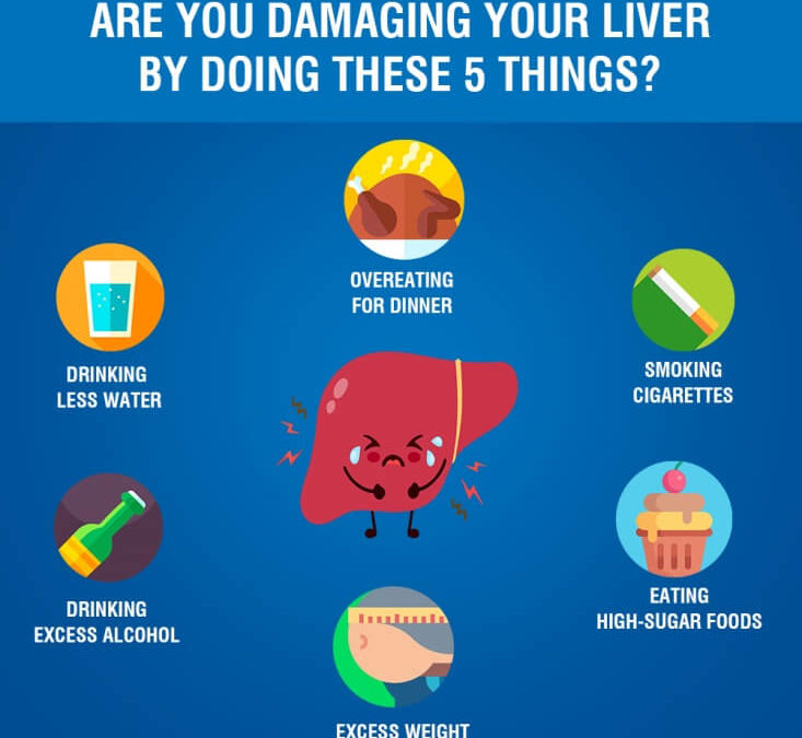 Are you damaging your liver by doing these 5 things?
