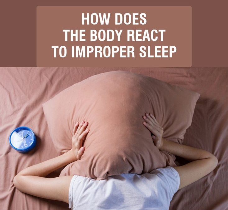 How Does The Body React To Improper Sleep-Thumbnail