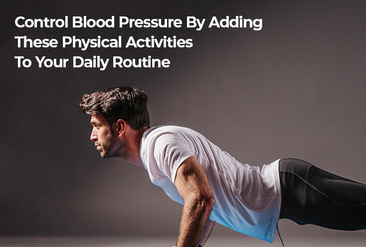 Control Blood Pressure with Physical Activities