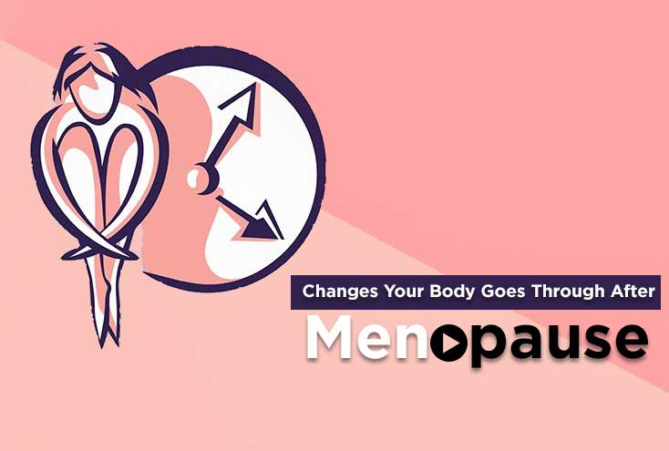 Changes Your Body Goes Through After Menopause