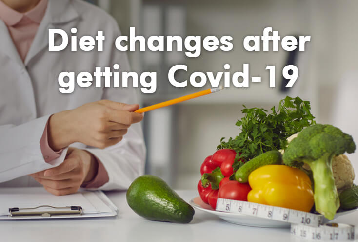Diet Changes After Getting COVID-19
